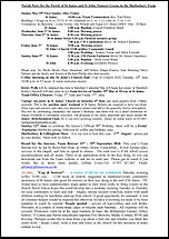 Pew Sheet 29th May 2016