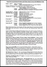 Pew Sheet 3rd Jul 2016
