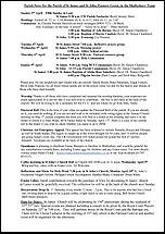 Pew Sheet 2nd Apr 2017