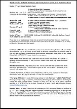 Pew Sheet 23rd Apr 2017