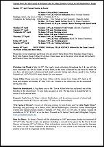 Pew Sheet 23rd Apr 2017