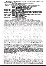 Pew Sheet 21st May 2017