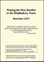 Pew Sheet Dec 2013