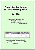 Pew Sheet May 2014