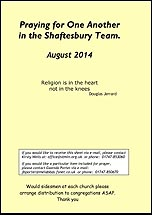 Pew Sheet Aug 2014