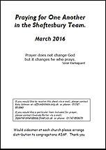 Pew Sheet Mar 2016
