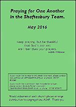 Pew Sheet May 2016