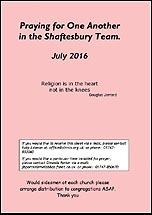 Pew Sheet Jul 2016