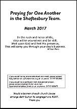 Pew Sheet Mar 2017