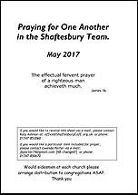 Pew Sheet May 2017