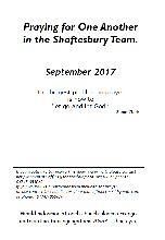 Pew Sheet Sep 2017